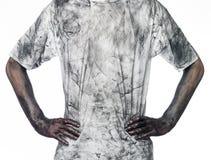 Homem sujo Foto de Stock