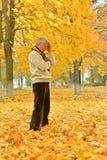 Homem superior triste Fotos de Stock Royalty Free