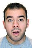 Homem surpreendido Foto de Stock