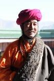 Homem tibetano Imagens de Stock