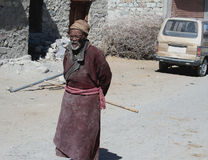 Homem tribal indiano IDOSO Fotografia de Stock Royalty Free