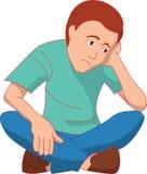 Homem triste Imagens de Stock Royalty Free