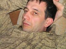 Homem triste Fotos de Stock Royalty Free