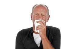 Homem triste de grito Fotos de Stock