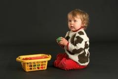 Homem velho do bebê de nove meses Fotos de Stock