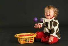 Homem velho do bebê de nove meses Imagem de Stock Royalty Free