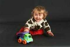 Homem velho do bebê de nove meses Fotografia de Stock