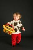 Homem velho do bebê de nove meses Imagens de Stock