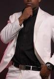 Homem vestido afiado Fotografia de Stock Royalty Free