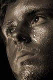 Homem Weeping imagens de stock