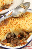 Homemad cottage pie Stock Images