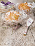 Homemade �houx pastry Royalty Free Stock Photography
