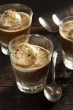 Homemade Affogato with Ice Cream royalty free stock photos