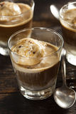 Homemade Affogato with Ice Cream Stock Image