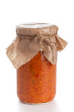 Homemade Ajvar Royalty Free Stock Image