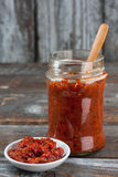 Homemade Ajvar Royalty Free Stock Images