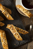 Homemade Almond Biscotti Pastry Royalty Free Stock Photo