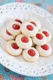Homemade almond cookies Royalty Free Stock Image