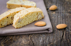 Homemade Almond cookies Royalty Free Stock Photos