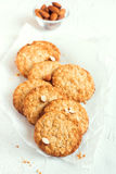 Homemade almond cookies Royalty Free Stock Photography