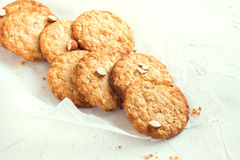 Homemade almond cookies Stock Photography