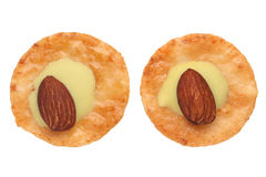 Homemade almonds cookies Royalty Free Stock Image