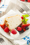 Homemade Angel Food Cake Royalty Free Stock Photos