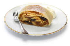 Homemade apfelstrudel, apple strudel Stock Photography