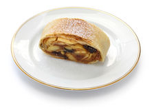 Homemade apfelstrudel, apple strudel Stock Images