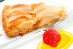 Homemade apple cake. Royalty Free Stock Photos