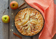 Homemade apple cake Stock Photography
