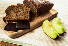 Homemade Apple Cake Stock Image
