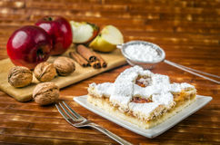 homemade apple cake Royalty Free Stock Image
