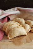Homemade apple and cinnamon hand pies Stock Image
