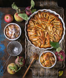 Homemade apple cke Royalty Free Stock Image