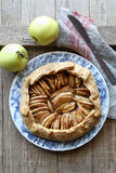 Homemade apple galette Stock Image
