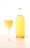 Homemade apple juice royalty free stock images