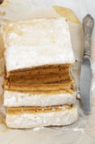 Homemade apple paste (marshmallow) Stock Image