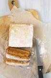 Homemade apple paste (marshmallow) Stock Images
