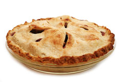 Homemade Apple Pie. Made with my own hands and it was delicious Stock Photography