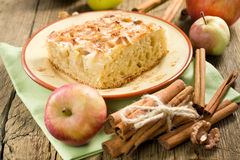 Homemade apple pie with cinnamon Stock Photo