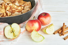 Homemade apple pie Stock Images