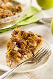 Homemade Apple Pie Dessert Stock Photo