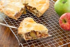 Homemade Apple Pie Stock Photography