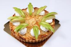 Homemade apple pie with fresh apple Stock Image