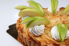 Homemade apple pie with fresh apple Royalty Free Stock Photos
