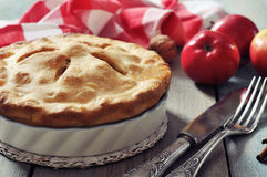 Homemade apple pie Royalty Free Stock Photo