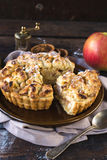 Homemade apple pie Royalty Free Stock Photography