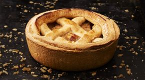 Homemade Apple Pie Royalty Free Stock Image