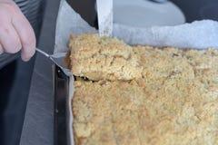 Homemade Apple Pie - Freshly Baked stock photo